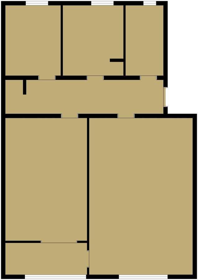Top gepflegte 3-Zimmerwohnung in zentral gelegener Gegend von Berlin - Grundriss