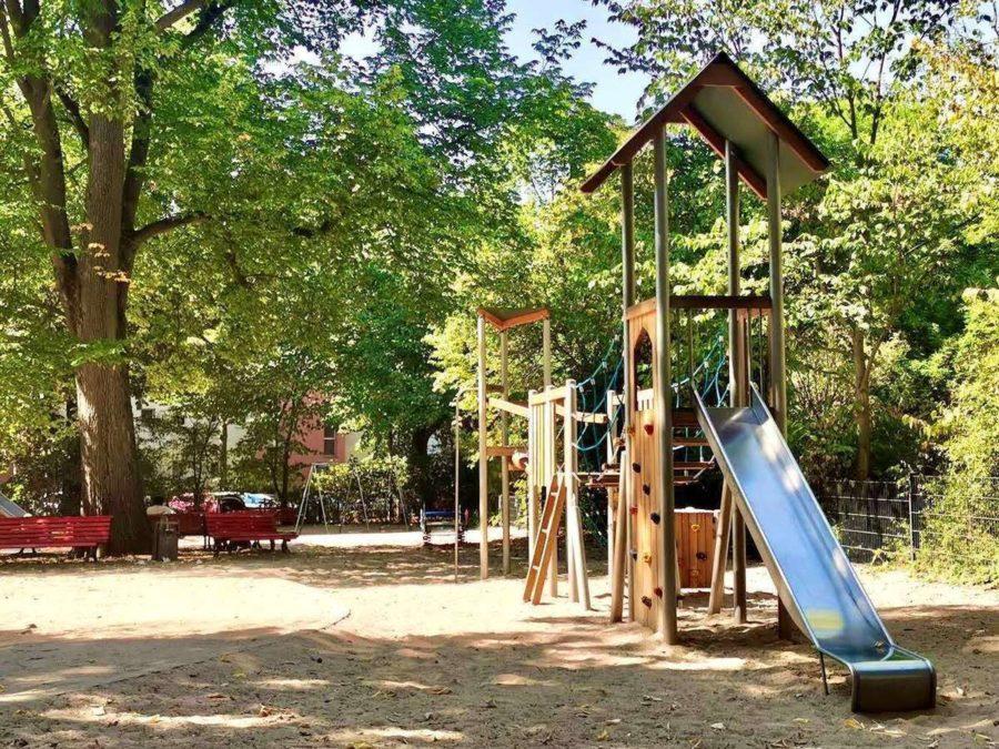 Adrette 3-Zimmerwohnung in grüner Lage von Steglitz - Park direkt an Wohnung