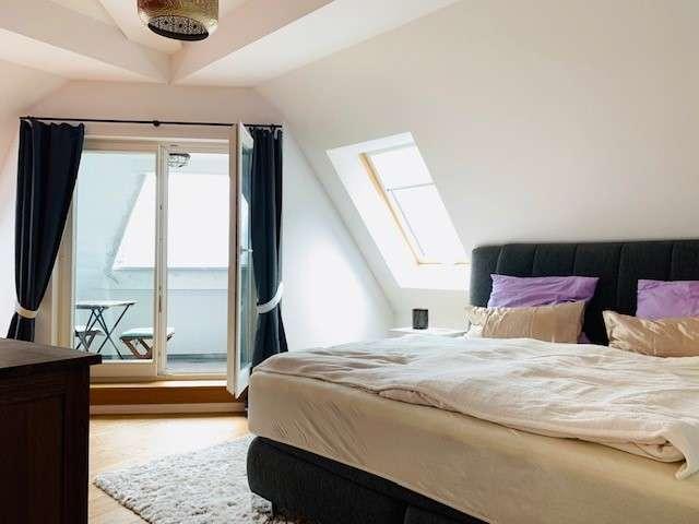 Große Neubau-Luxusdachgeschosswohnung mit Fahrstuhl und zwei Balkonen in gefragter Lage - Bild