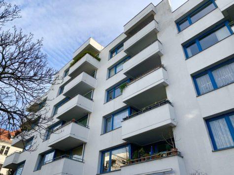 Bezugsfrei: Sehr attraktive lichtdurchflutete 3-Zi. Wohnung mit SW-Balkon & Stellplatz, 14052 Berlin, Etagenwohnung