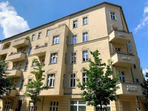 Ruhepol: Großzügige & helle 1-Zi.-Wohnung im wachsenden Mauerparkkiez, 10437 Prenzlauer Berg, Etagenwohnung