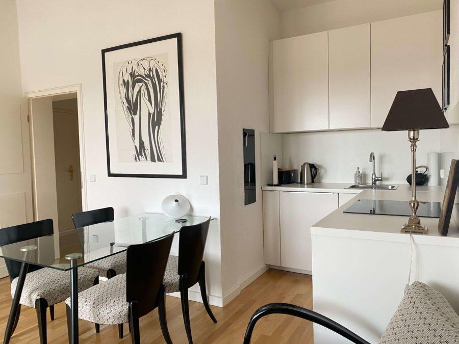 Sehr ruhige, lichtdurchflutete und moderne Wohnung über 2 Ebenen mit Weitblick in absoluter Bestlage - Bild