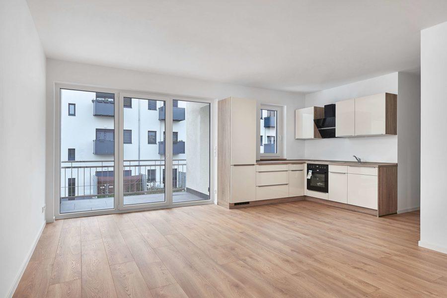 Hochwertig ausgestattete & bezugsfreie Neubauwohnung in Stadtvilla - Bild