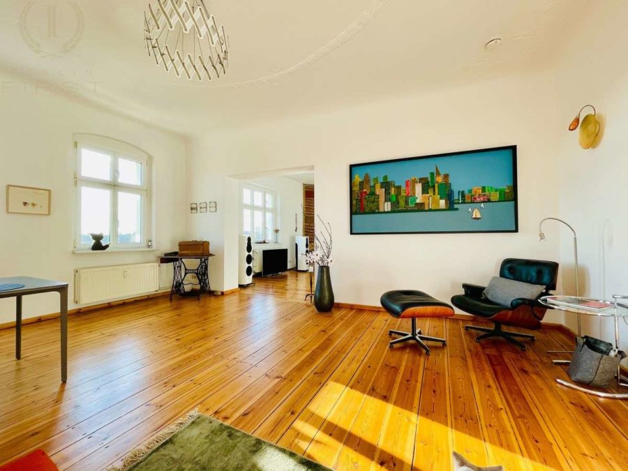 Altbauperle direkt am Mauerpark! Top gepflegte Wohnung in beliebter Lage - Zimmer (3)