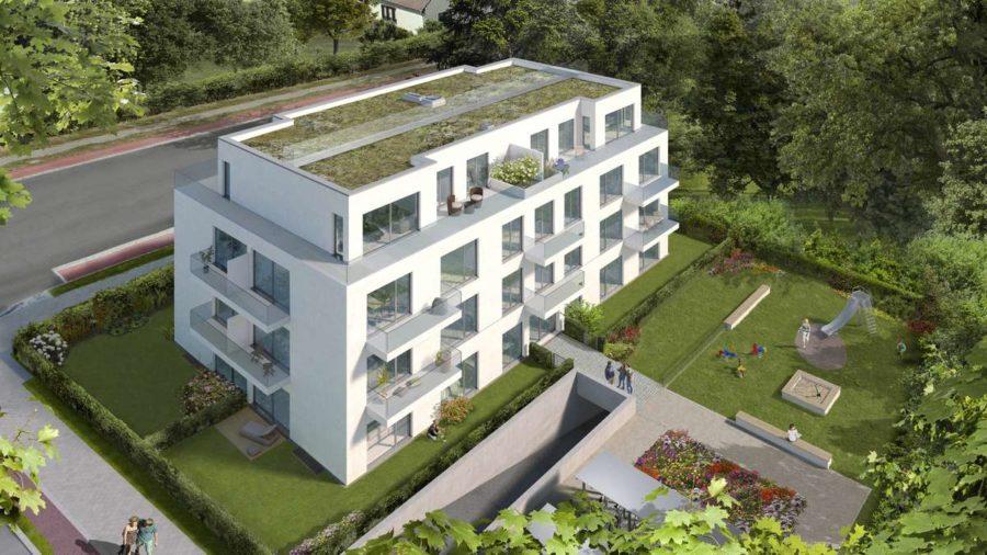 Traumhaftes Baugrundstück in Wassernähe mit Baugenehmigung in bester Lage von Berlin Kaulsdorf - Visualisierung 1