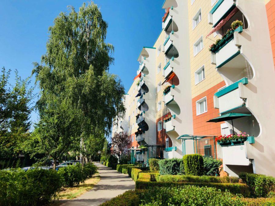 Ruhige 4-Zimmerwohnung mit Balkon in grüner Lage - Titelbild