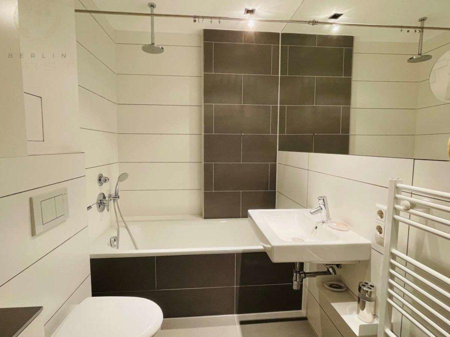 Helle & charmante Altbauwohnung mit 3 Zimmern an der Spree - Bad