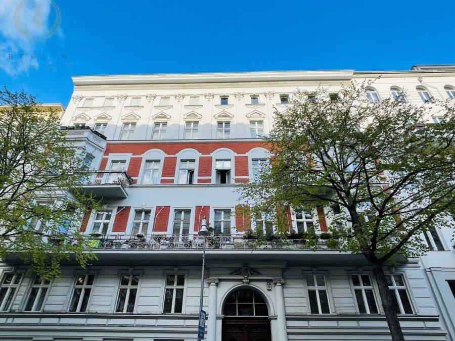 Helle & charmante Altbauwohnung mit 3 Zimmern an der Spree - Hausansicht