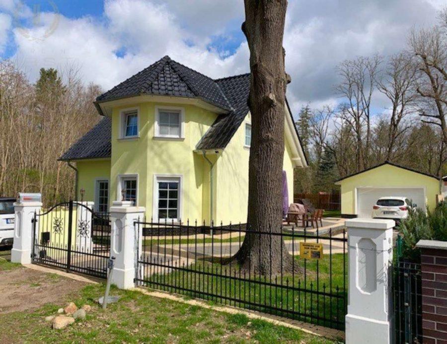 Traumhaftes Einfamilienhaus in sehr ruhiger Lage am Mellensee - Hausansicht (2)