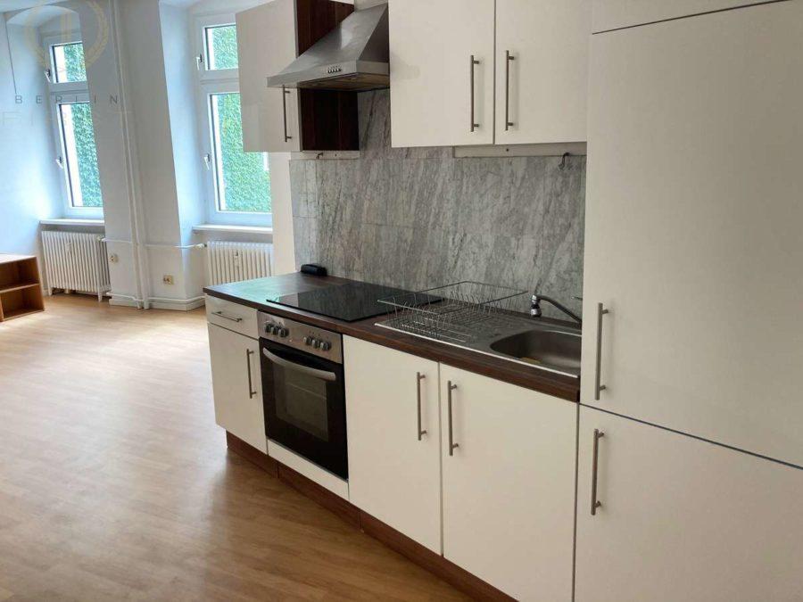 Moderne & lichtdurchflutete 2-Zimmerwohnung in beliebter Lage am Treptower Park - Küche