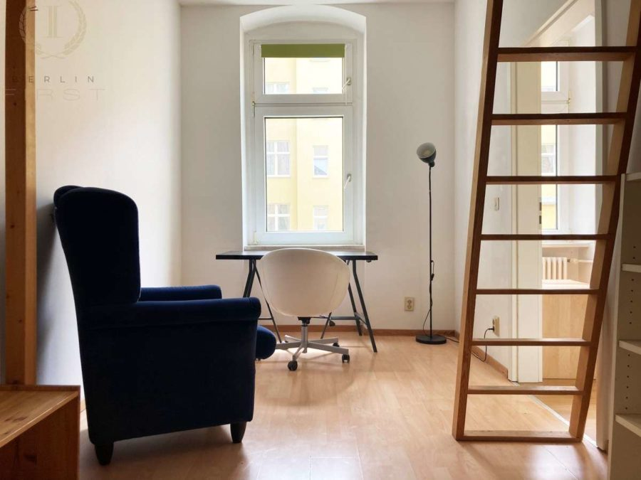 Moderne & lichtdurchflutete 2-Zimmerwohnung in beliebter Lage am Treptower Park - Schlafen