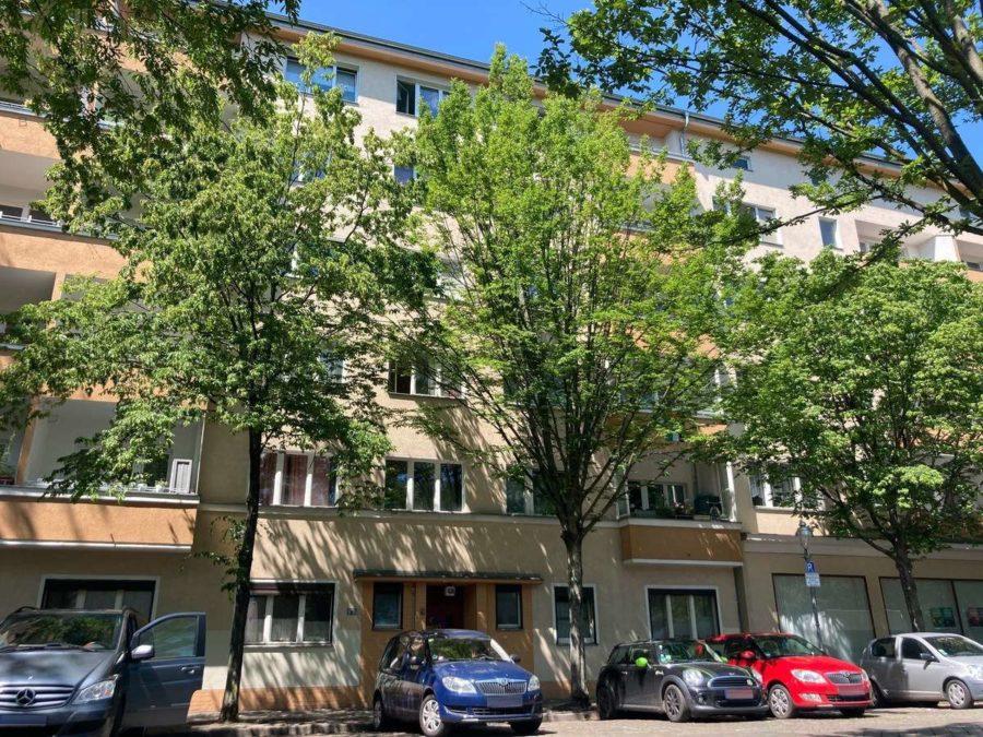 Behagliche 2-Zimmerwohnung mit Süd-Balkon in Szenekiez von Moabit - Hausansicht