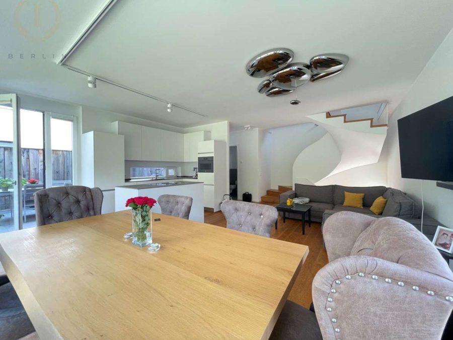 Intelligent konzipiertes Energiespar-Designhaus in familienfreundlicher und moderner Toplage - Wohnbereich