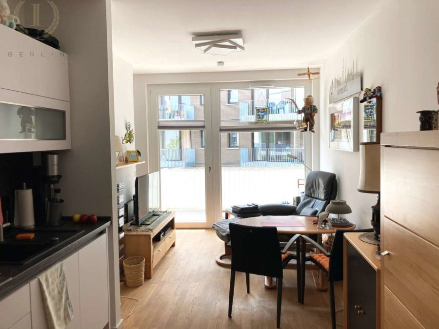 Moderne Neubauwohnung mit Süd-Balkon in idyllischer und begehrter Lage direkt an der Dahme - Wohnen