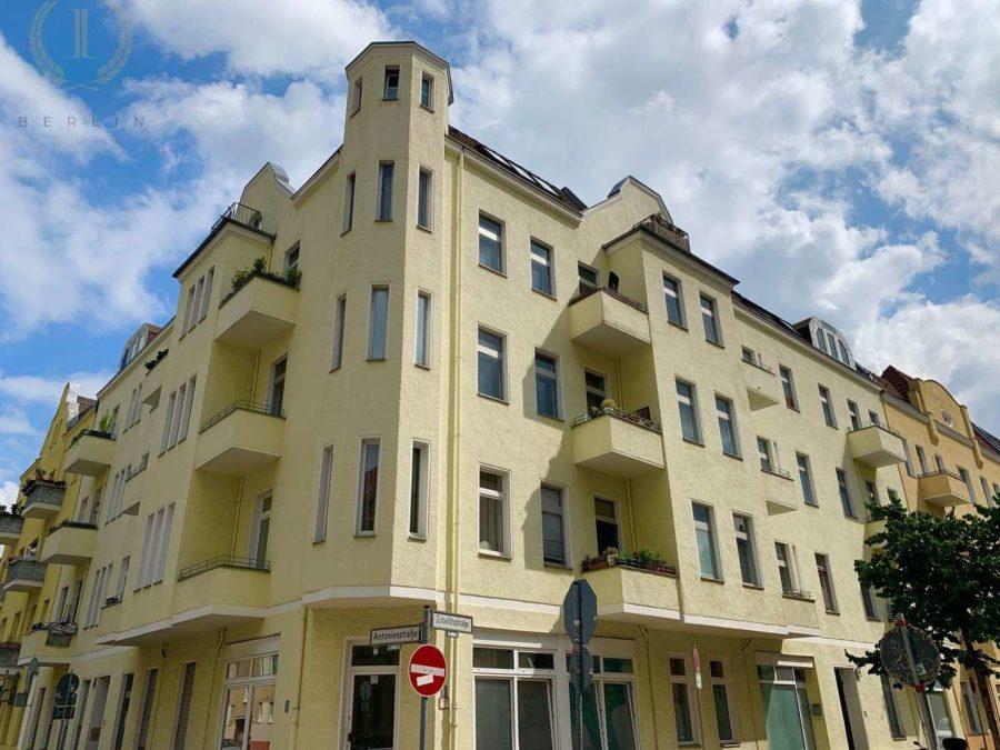 Schöne und lichtdurchflutete Dachgeschosswohnung mit Südausrichtung in zentraler Lage - Hausansicht
