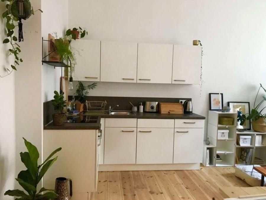 Lichtdurchflutete Altbauwohnung mit 2-Zimmern und Balkon in ruhiger und sehr beliebter Kiezlage - Kochen