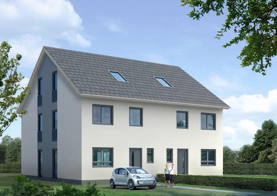 Baugrundstück für den Bau einer Doppelhaushälfte in ruhiger und bester Lage von Lichtenrade - Beispielbild