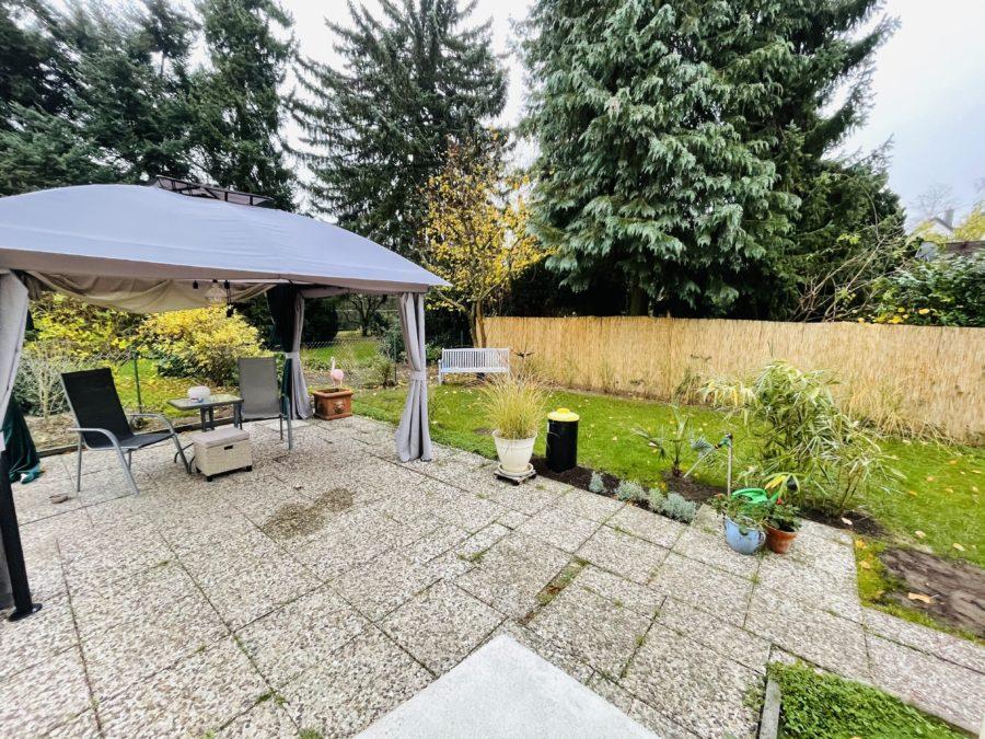 Baugrundstück für den Bau einer Doppelhaushälfte in ruhiger und bester Lage von Lichtenrade - Terrasse